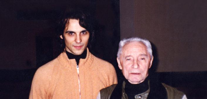 Igor Yebra con Yuri Grigorovich.