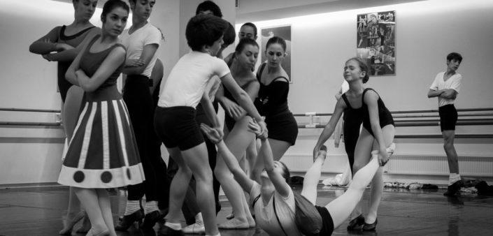 Taller Coreográfico Igor Yebra Escuela Ballet Bilbao