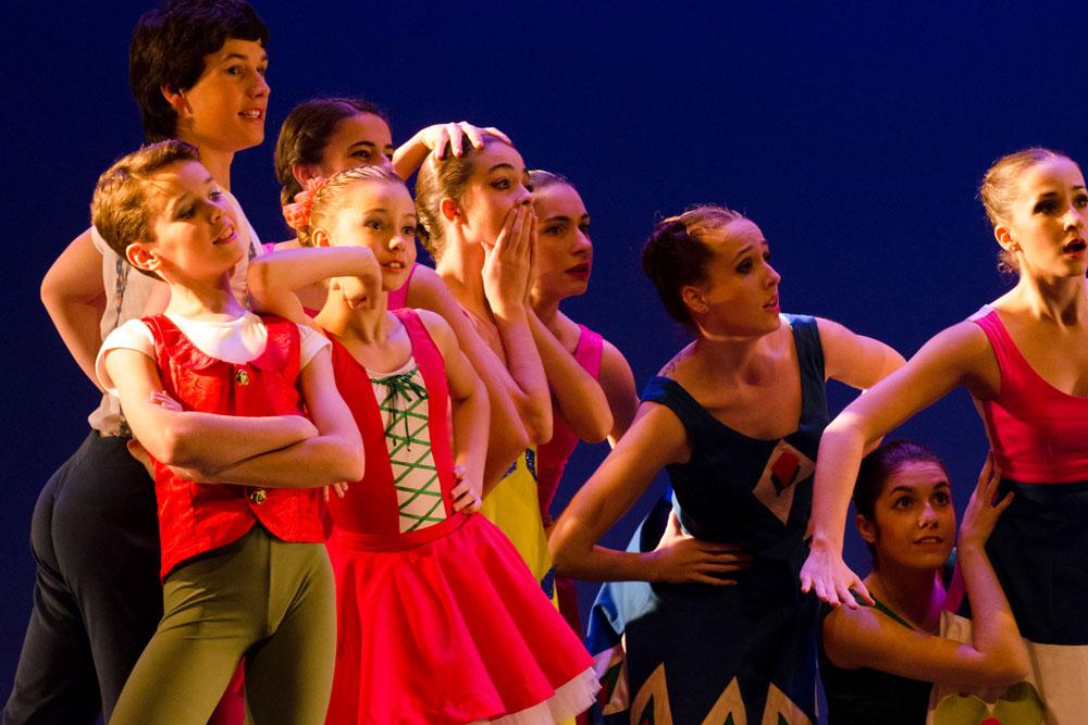 Pipi Bailarina Taller Coreográfico Igor Yebra Escuela Ballet Bilbao